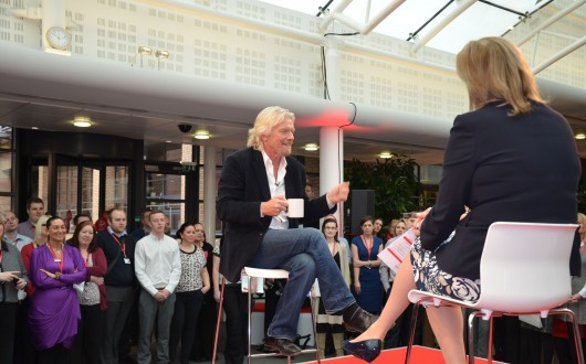 Richard Branson -5 questions and a quote-